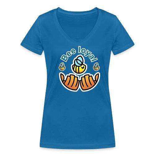 Save the Bees T-shirt - Frauen Bio-T-Shirt mit V-Ausschnitt von Stanley & Stella