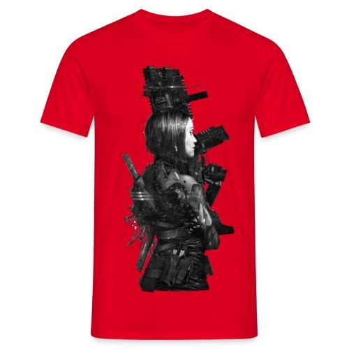 Red Chrome - męska - Koszulka męska