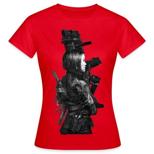 Red Chrome - damska - Koszulka damska