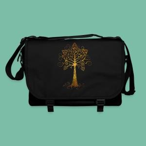Grand sac à badoulière pour le travail, la fac ou l'école - Sac à bandoulière