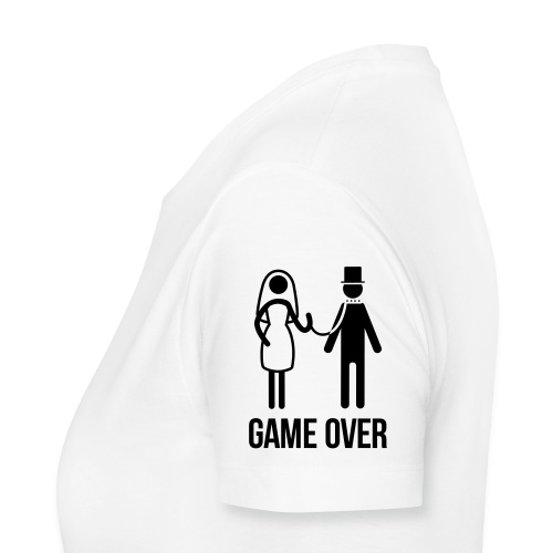 tee shirt speatshirt  game over - T-shirt Premium Femme