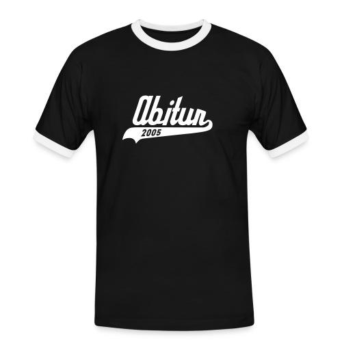 ABI 2005 - Männer Kontrast-T-Shirt