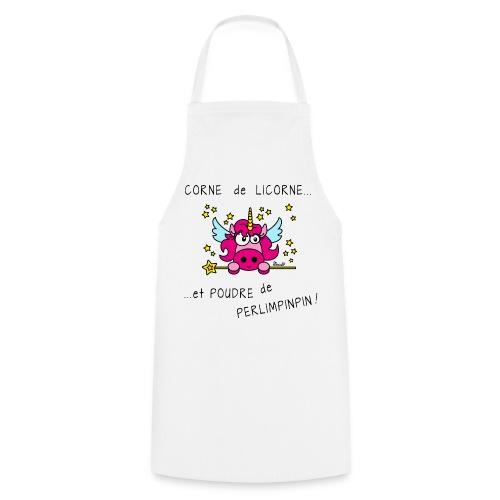 Tablier Licorne, Poudre de Perlimpinpin, magique - Tablier de cuisine