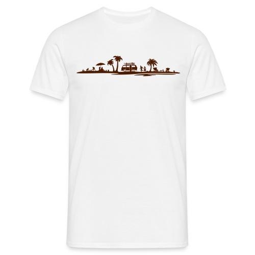 Sonne Strand Wohnmobil - Männer T-Shirt