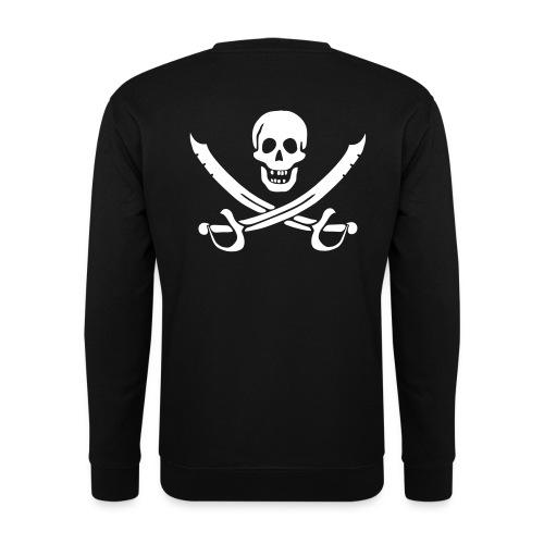 Piratenpullover Mann Weiß-Schwarz - Männer Pullover