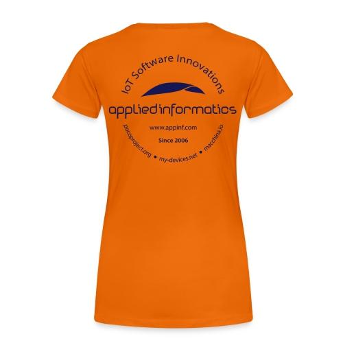 Woman's T-Shirt IoT Software Innovations - Women's Premium T-Shirt