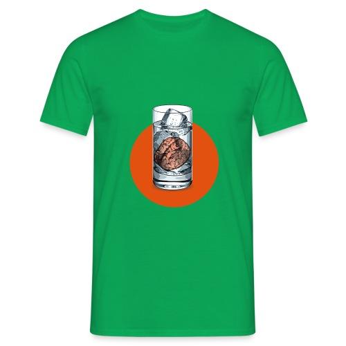 Eisgedanken Kühler Kopf in grün by Hatgirl - Männer T-Shirt