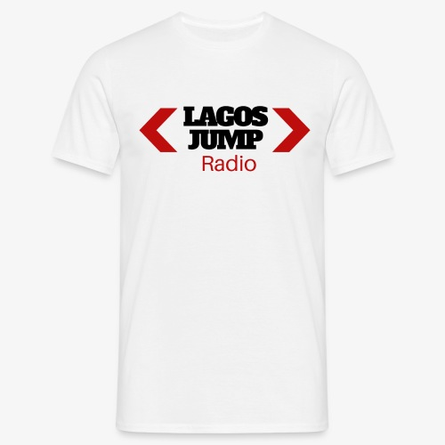 LagosJump Men's T-Shirt (White) - Men's T-Shirt