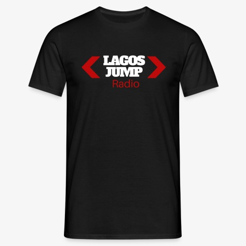 LagosJump Men's T-Shirt (Black) - Men's T-Shirt