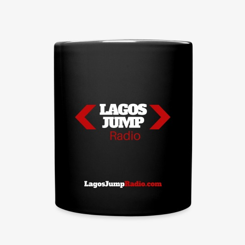 LagosJump Mug (Black) - Full Colour Mug
