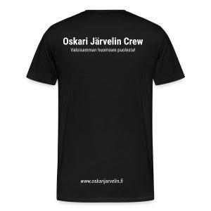 Crew t-paita - Miesten premium t-paita