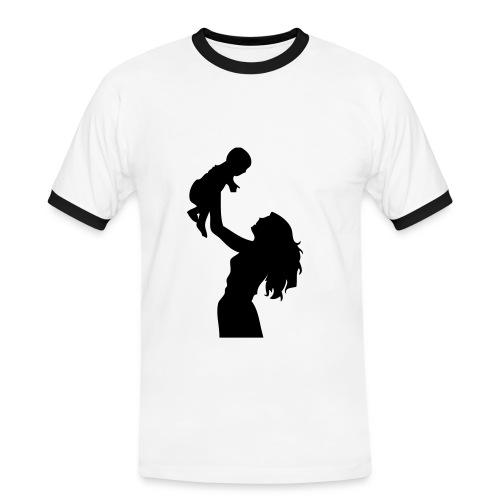 Brasil style - Kontrast-T-skjorte for menn