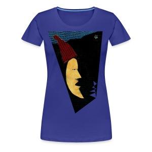 Mond - Nacht - Frauen Premium T-Shirt