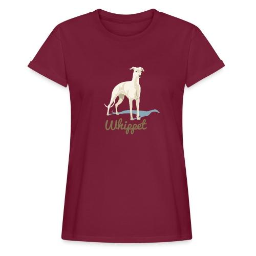 Oversize T-Shirt Whippet - Frauen Oversize T-Shirt