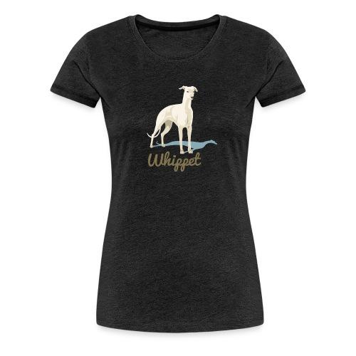 Whippet T-Shirt - Frauen Premium T-Shirt