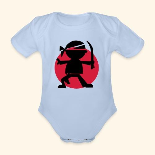 Little Ninja - Organic Short-sleeved Baby Bodysuit