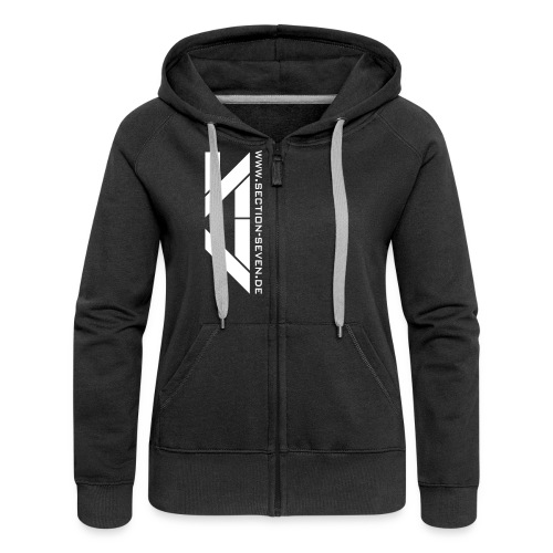 Section Girl Sweat Jacke - Frauen Premium Kapuzenjacke