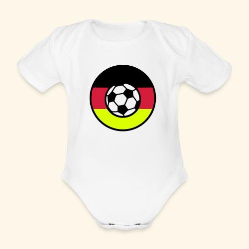 König Fußball - Organic Short-sleeved Baby Bodysuit