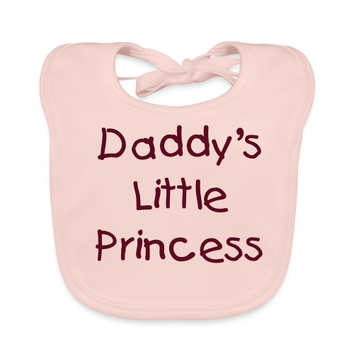 Daddy's Little Princess Bib - Baby Organic Bib