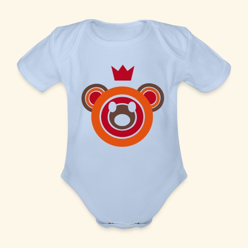 Berlin Baby - Organic Short-sleeved Baby Bodysuit