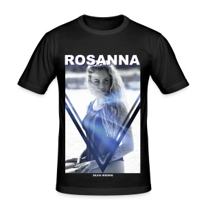 Rosanna Man Black (slimfit) - slim fit T-shirt