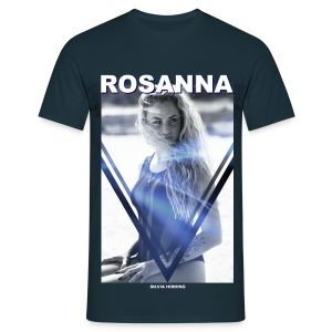 Rosanna Man Navy Blue (loosefit) - Mannen T-shirt
