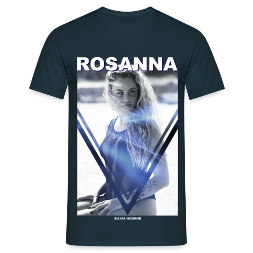 Rosanna Man Navy Blue (loosefit) - Mannen T-shirt