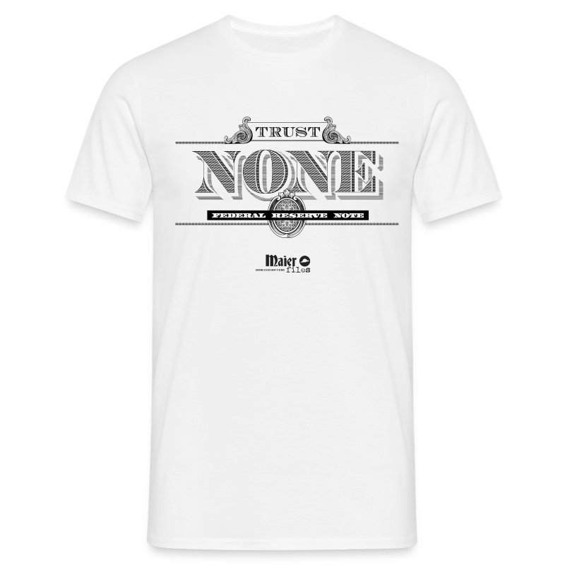 Trust None - T-shirt Homme