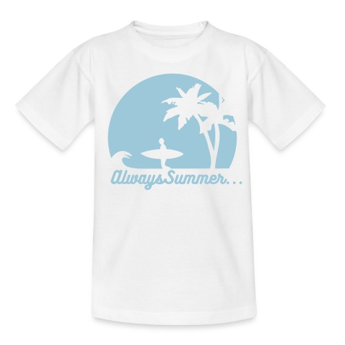 Always Summer... When we're together - T-skjorte for tenåringer