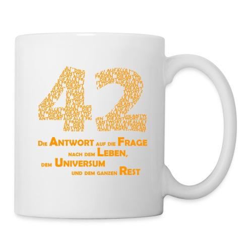 Antwort - 42 - Tasse - Tasse