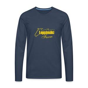 Miesten paita 3 sinkel - Miesten premium pitkähihainen t-paita