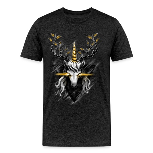 Deer Unicorn - Men's Premium T-Shirt