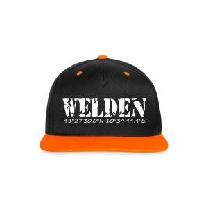 Welden-Cap - Kontrast Snapback Cap