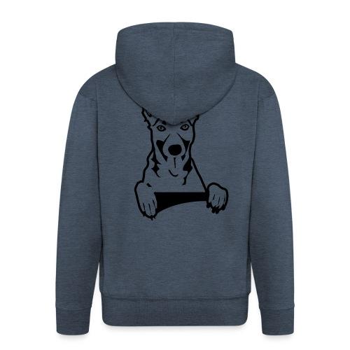 Dog, Hond, Mechelse herder - Mannenjack Premium met capuchon
