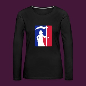 Tot, aber lustig - Frauen Premium Langarmshirt