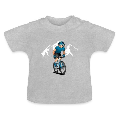 MTB - Cyklist i fjällen Babytröjor - Baby T-Shirt