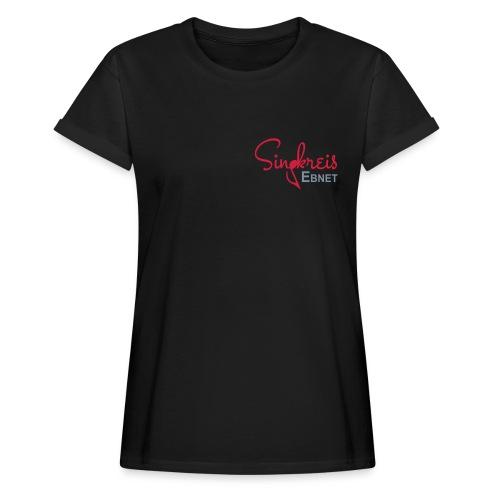 Singkreis OS Damen-T-Shirt schwarz - Frauen Oversize T-Shirt