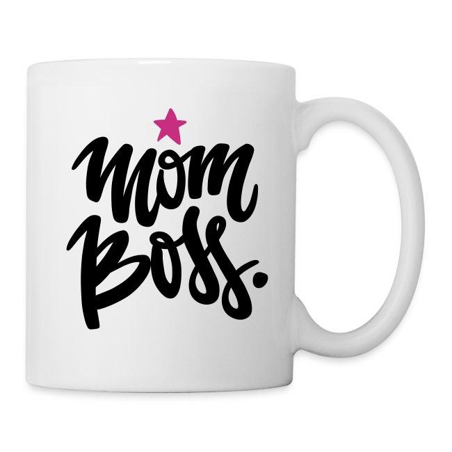 Mom Boss Tasse