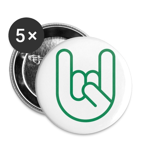 Rock! Buttons. - Buttons middel 32 mm