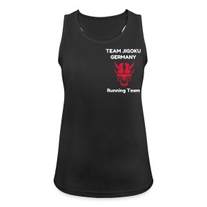 TJG Running women, Tank Top 2, black - Frauen Tank Top atmungsaktiv