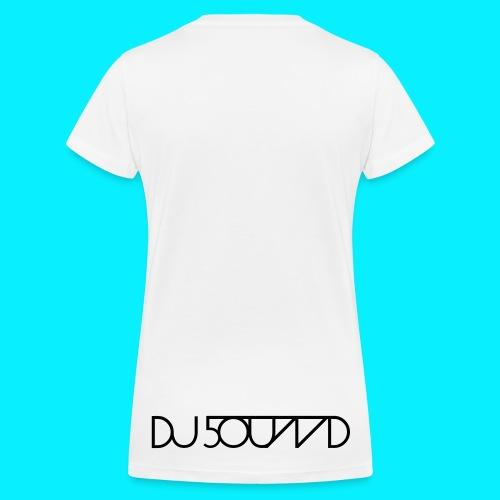 Shirt Girl DJ 5OUND - Frauen Bio-T-Shirt mit V-Ausschnitt von Stanley & Stella