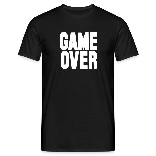 T-Shirt Game Over - T-shirt Homme