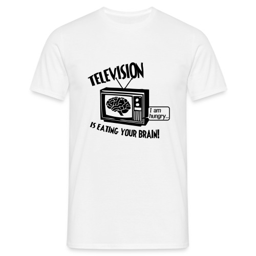Hungry TV (black) - Men's T-Shirt