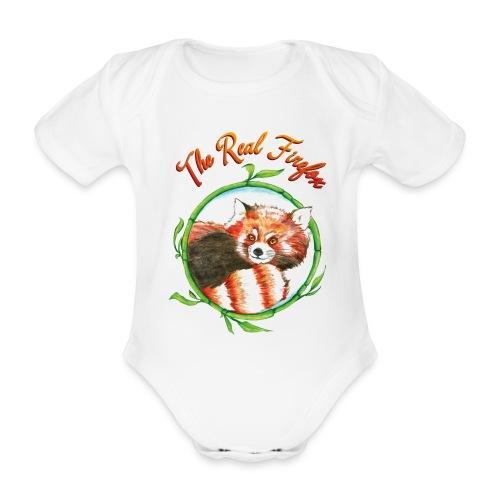 Bio Baby-Kurzarm Body – Firefox - Baby Bio-Kurzarm-Body