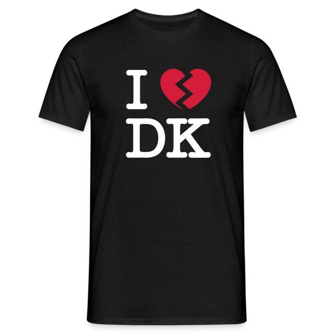 I [heartbroken] DK - black