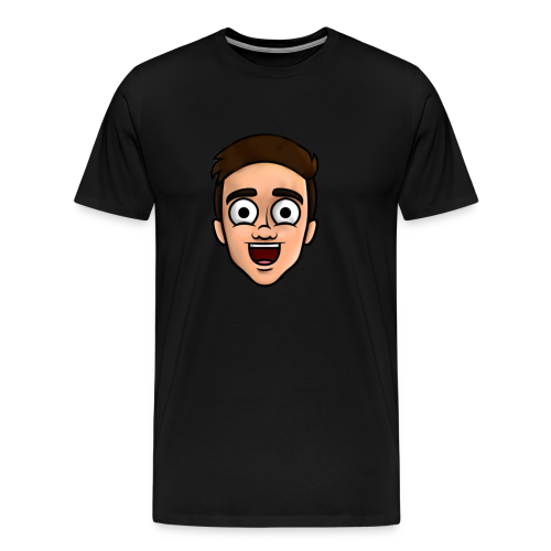 'Nielsow cartoon' T-shirt man (zwart) - Mannen Premium T-shirt