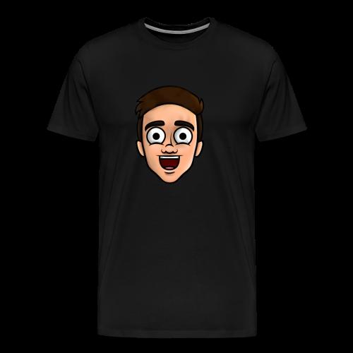 'Nielsow cartoon' T-shirt man (zwart) - Mannen Premium T-shirt