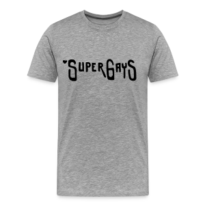 SUPERGAYS - Männer Premium T-Shirt