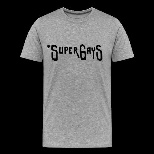 SUPERGAYS - Männer Premium T-Shirt