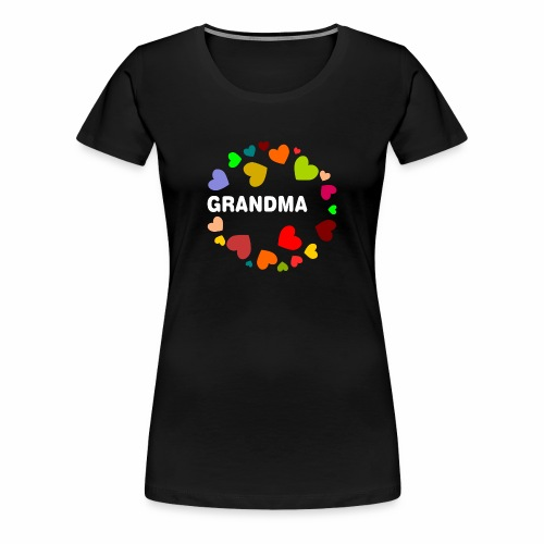 Grandma T-Shirt - Frauen Premium T-Shirt